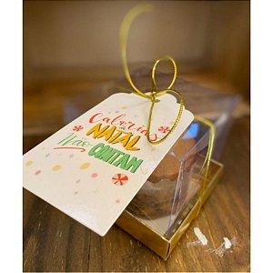 Tag Decorativa Calorias de Natal - 5 unidades - Rizzo Confeitaria