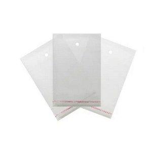 Saco Adesivado com furo - 7,5 x 10 cm - Rizzo