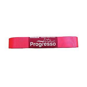 Fita Gorgurão Progresso 15mm nº3 - 10m Cor 279 Rosa Cítrico - 01 unidade