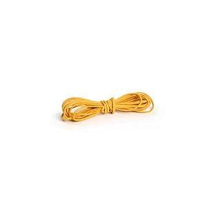 Cordão de Camurça Amarelo 5m - 01 unidade - Cromus - Rizzo
