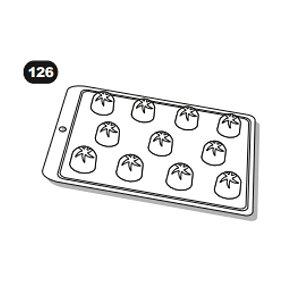 Forma de Acetato Bombom Decorado Ref. 126 Crystal Rizzo Confeitaria