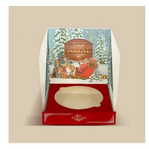 Caixa Panetone 500g Polo Norte - 1un - Rizzo Confeitaria