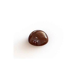 Forma Injetada Meia Esfera 30mm Gramado Rizzo Confeitaria