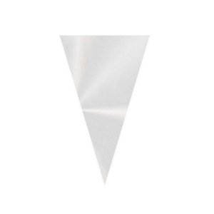 Cone Festa Transparente - 18x30cm - 50 unidadas - Cromus - Rizzo