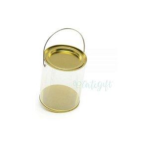 Lata Alça G Ouro - 9 x 11,5cm - 4un - Artegift - Rizzo