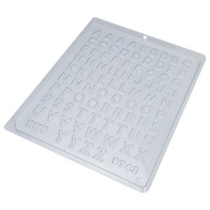 Forma de Acetato Mini Alfabeto 9743 BWB