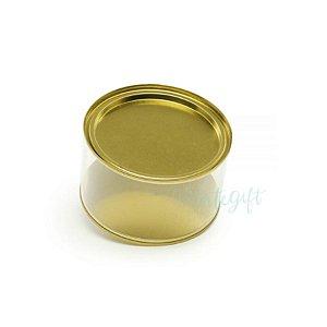 Lata Cookies Ouro - 12,7x7,5cm - ArtGift - Rizzo
