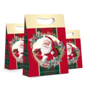 Caixa Plus Noel Boas Festas - 10 unidades - Cromus Natal - Rizzo