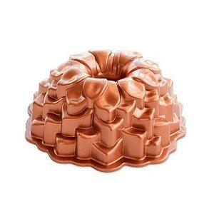 Forma em Alumínio Fundido Blossom Nordic Ware Rizzo Confeitaria