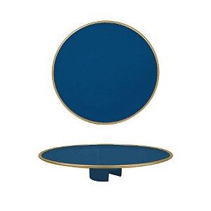 Tampo Boleira - Azul Petroleo Filete - Só Boleiras - Rizzo Confeitaria