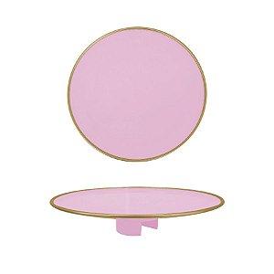 Tampo Boleira - Rosa Claro Filete - Só Boleiras - Rizzo Confeitaria