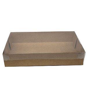 Caixa Transparente de Acetato Kraft - Ref.CH-13 - 15,5X8X3 - 20 unidades - CAC - Rizzo