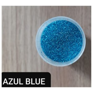 Pó para Decoração - Glitter Azul Blue - Jeni Joni - 10g - Rizzo Confeitaria