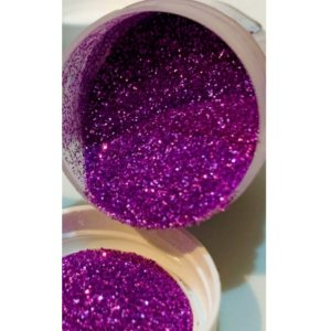 Pó para Decoração - Glitter Lilás - Jeni Joni - 10g - Rizzo Confeitaria