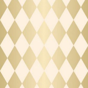 Folha para Ovos de Páscoa Pierrot Ouro Marfim 69x89cm - 05 unidades - Cromus Páscoa