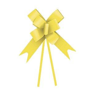 Laço Fácil Amarelo - 10 unidades - Cromus - Rizzo