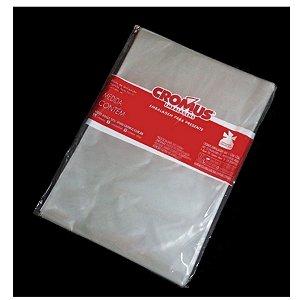 Saco Transparente - 45x59cm - 25 unidades - Cromus - Rizzo