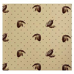 Papel Chumbo 10x9,7cm - Sabor Ouro Marrom - 300 folhas - Cromus