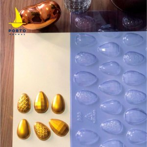 Forma de Acetato Ovos 3 em 1 - 10gr Ref 863 Porto Formas