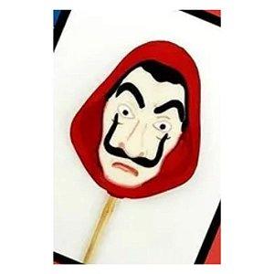 Forma de Acetato Pirulito Máscara - Cód.433 - Porto - Rizzo Confeitaria