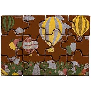 Blister Decorado de Páscoa com Transfer para Chocolate Quebra Cabeça BLP0132 Stalden Rizzo Confeitaria