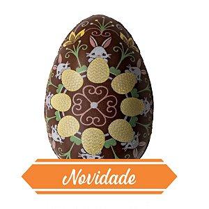 Blister Decorado com Transfer para Chocolate Ovo 50G BLP0131 Stalden Rizzo Confeitaria