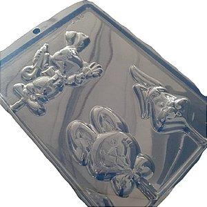 Forma de Acetato Miscelânea de Coelhos Mod. 548 - 1 unidade - Crystal