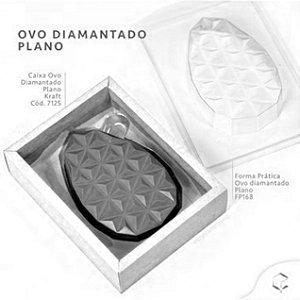 Caixa Ovo Diamantado Plano Branco - 5 Unidades - Crystal -  Rizzo Confeitaria