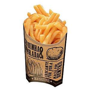 Caixa para Batatas Fritas Kraft - 50 unidades - Food Service Fest Color - Rizzo