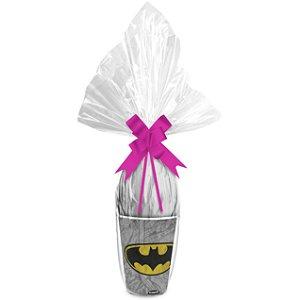 Kit Ovo no Copo Batman Cores (Copo + Saco Express + Papel Chumbo + Laço Fácil) - Páscoa Rizzo