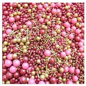 Sprinkles Rose Gold 60g - Morello - Rizzo Confeitaria