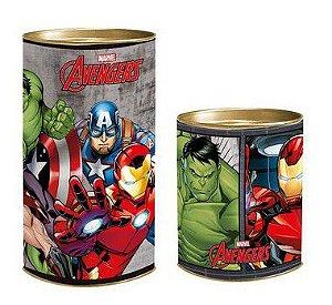 Lata para Lembrancinhas Avengers - 01 unidade - Cromus - Rizzo