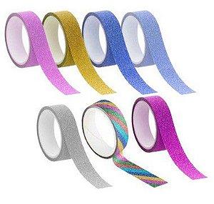 Fita Adesiva Glitter - 01 unidade - Rizzo