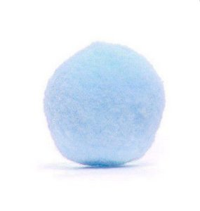 Pompom Decorativo Azul 1,5 cm Rizzo