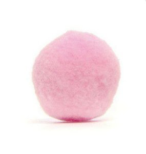 Pompom Decorativo Rosa 2 cm Rizzo