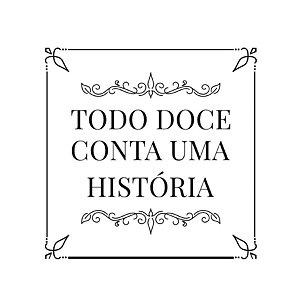 Carimbo Artesanal Todo Doce - M - 4x4cm - Cod.RI-072 - Rizzo Confeitaria