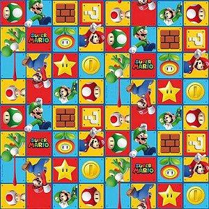 Folha para Ovos de Páscoa Super Mario 69x89cm - 05 unidades - Cromus Páscoa - Rizzo