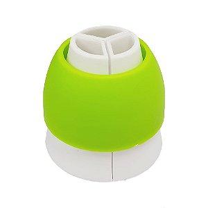 Adaptador de Bico Tri-color Confeitudo Rizzo Confeitaria