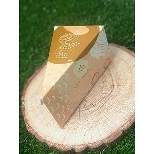 Caixa Bolo Fatia Naturalle - 10un - Rizzo Confeitaria