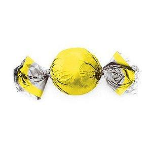 Papel Trufa 15x16cm - Neon Amarelo - 75 unidades - Cromus