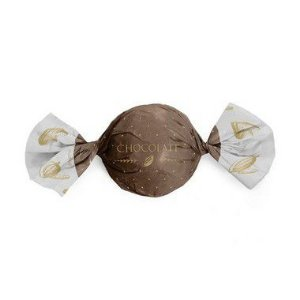 Papel Trufa 14,5x15,5cm - Cacau Marrom - 100 unidades - Cromus