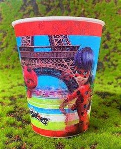 Copo de Plástico 3D 350 Ml Festa Ladybug Miraculous - 1 Unidade - Regina - Rizzo Festas