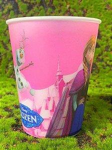 Copo de Plástico 3D 350 Ml Festa Frozen - 1 Unidade - Regina - Rizzo Festas