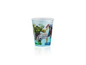 Copo de Plástico 3D 350 Ml Festa Vingadores - 1 Unidade - Regina - Rizzo
