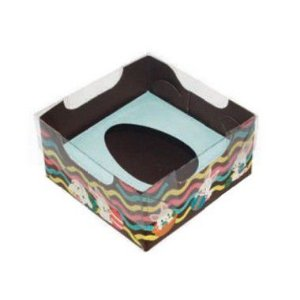 Caixa Ovo de Colher de 50g - Encanto Azul Bebê Kids Cód 1487 - 10 unidades - Ideia Embalagens - Rizzo