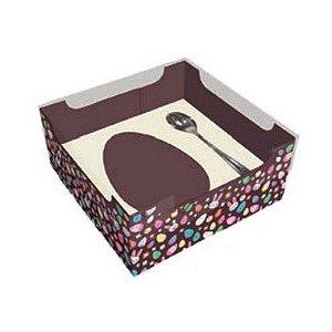 Caixa Ovo de Colher de 100g - Encanto Creme Kids Cód 1495 - 10 unidades - Ideia Embalagens - Rizzo