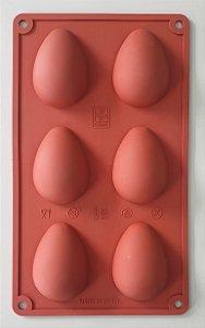 Assadeira em Silicone para Ovos de Páscoa - Cimapi - Rizzo Confeitaria