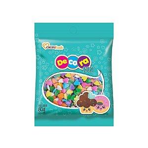 Decora Fun Confeitos Love - Cacau Foods - 50g - Rizzo Confeitaria