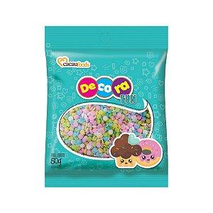 Decora Fun Confeitos Ball - Cacau Foods - 50g - Rizzo Confeitaria