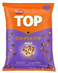 Chipshow Gotinhas Sabor Chocolate com Avelã 1,05kg Harald